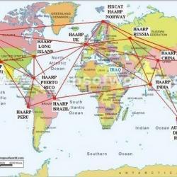 Tracé des antennes relais a travers le monde