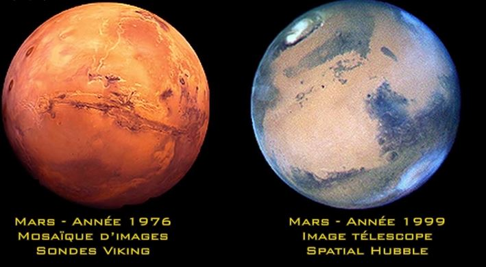 Mars bleue