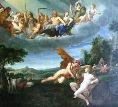 Nikola allegorie